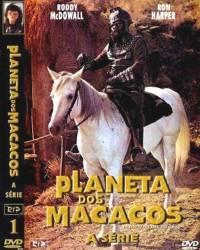 DVD O PLANETA DOS MACACOS - A SERIE - 4 DVDs