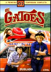 DVD OS GATOES - 1 TEMP - 3 DVDs