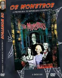 DVD OS MONSTROS - 1 TEMP -  - 4 DVDs - VERSAO LANÇADA NO BRASIL