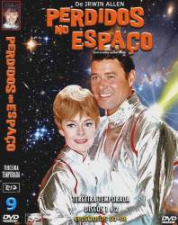 DVD PERDIDOS NO ESPAÇO - 3 TEMP - 7 DVDs
