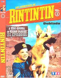 DVD RIN TIN TIN - 4 DVDs