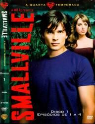DVD SMALLVILLE - 4º TEMP - 6 DVDs