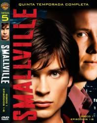 DVD SMALLVILLE - 5º TEMP - 6 DVDs
