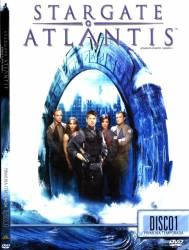 DVD STARGATE ATLANTIS - 1 TEMP - 5 DVDs
