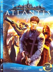 DVD STARGATE ATLANTIS - 2 TEMP - 5 DVDs