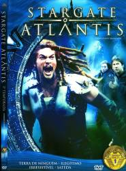 DVD STARGATE ATLANTIS - 3 TEMP - 5 DVDs