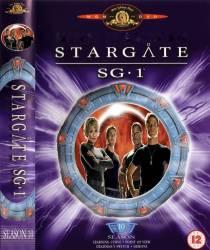 DVD STARGATE SG1 - 10 TEMP - 5 DVDs