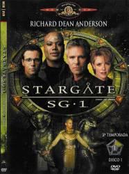 DVD STARGATE SG1 - 2 TEMP - 6 DVDs