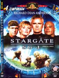 DVD STARGATE SG1 - 4 TEMP - 6 DVDs