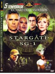 DVD STARGATE SG1 - 5 TEMP - 5 DVDs