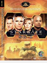 DVD STARGATE SG1 - 6 TEMP - 5 DVDs