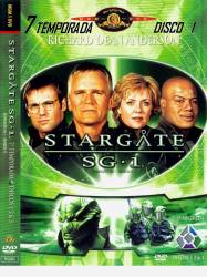 DVD STARGATE SG1 - 7 TEMP - 5 DVDs