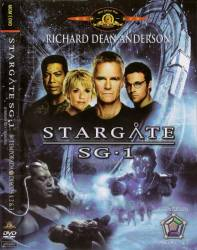 DVD STARGATE SG1 - 8 TEMP - 5 DVDs