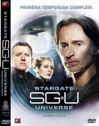 DVD STARGATE UNIVERSE - 1 TEMP - 6 DVDs