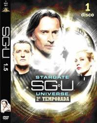 DVD STARGATE UNIVERSE - 2 TEMP - 5 DVDs