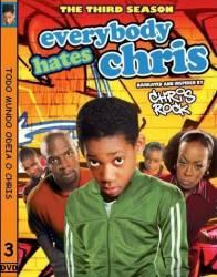 DVD TODO MUNDO ODEIA O CHRIS - 3º TEMP - 4 DVDs