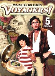 DVD VOYAGERS - VIAJANTES DO TEMPO - 6 DVDs - 20 EP