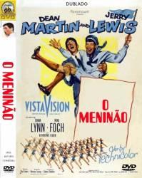 DVD O MENINAO - JERRY LEWIS