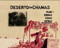 DVD DESERTO EM CHAMAS ou A 5 PASSOS DA MORTE - 1958