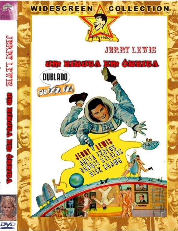 SPACETREK66 - DVD UM BIRUTA EM ORBITA - JERRY LEWIS