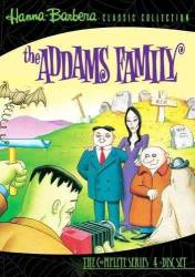 DVD A FAMILIA ADDAMS - DESENHO - 3 DVDs