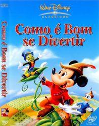 DVD COMO E BOM SE DIVERTIR - WALT DISNEY