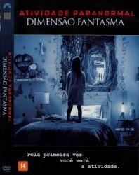 DVD ATIVIDADE PARANORMAL - DIMENSAO FANTASMA