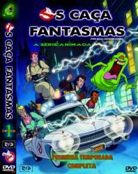 DVD OS CAÇA FANTASMAS - 1º TEMP - DESENHO - 3 DVDs