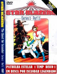 DVD PATRULHA ESTELAR - 1 TEMP - 6 DVDs