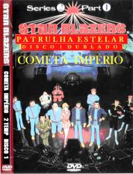 DVD PATRULHA ESTELAR - 2 TEMP - 6 DVDs