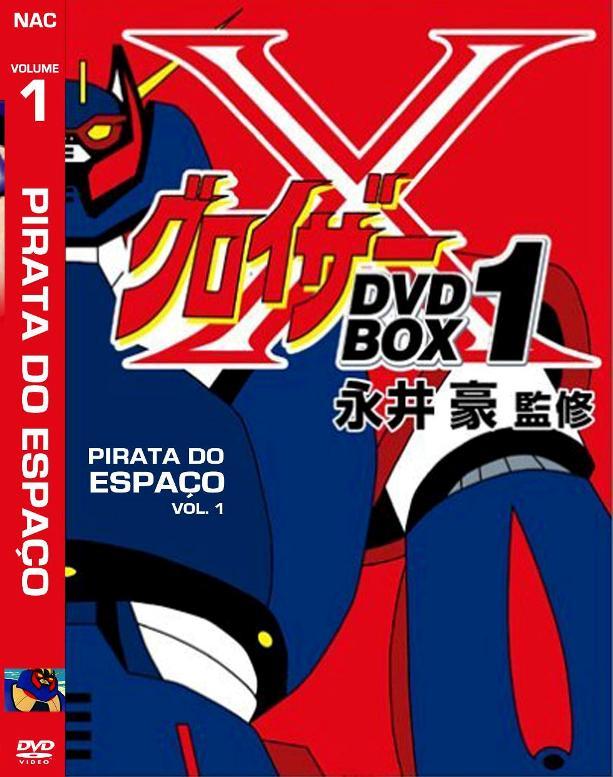 Spacetrek66 Dvd Pirata Do Espaco Desenho 3 Dvds