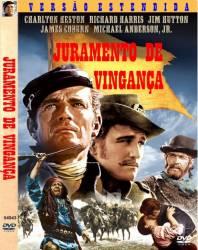 DVD JURAMENTO DE VINGANÇA - CHARLTON HESTON - 1967