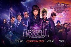 DVD ABIGAIL E A CIDADE PROIBIDA - EDDIE MARSAN