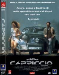 DVD CAPRICCIO - TINTO BRASS