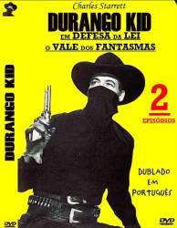 DVD CHARLES STARRETT - DURANGO KID - 2x1 FILMES - FAROESTE - 1947-1948