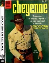 DVD CHEYENNE - ENCONTRO EM RED ROCK - FAROESTE - 1956
