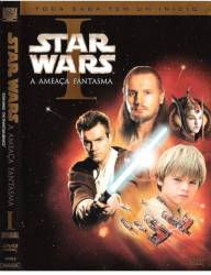 DVD STAR WARS 1 - A AMEAÇA FANTASMA