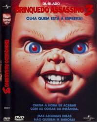 DVD CHUCK - O BRINQUEDO ASSASSINO 3 - DUBLADO