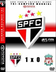 DVD SAO PAULO x LIVERPOOL - MUNDIAL INTERCLUBES 2005