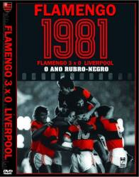 DVD FLAMENGO 3x0 LIVERPOOL - MUNDIAL INTERCLUBES 1981
