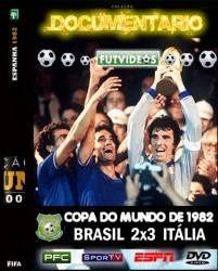 DVD BRASIL 2x3 ITÁLIA - COPA DE 1982 - QUARTAS-DE-FINAL