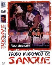 DVD TRONO MANCHADO DE SANGUE - 1957