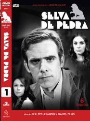 DVD SELVA DE PEDRA - NOVELA BRASILEIRA - 6 DVDs - 1972