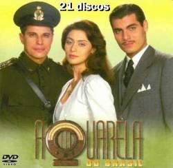 DVD AQUARELA DO BRASIL - MINISSERIE - 21 DVDs