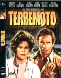 DVD TERREMOTO - CHARLTON HESTON - 1974