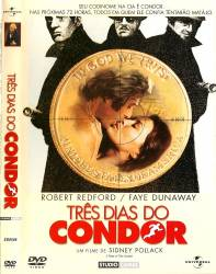 DVD TRES DIAS DO CONDOR - 1975