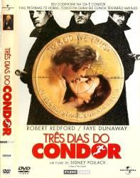 DVD TRES DIAS DO CONDOR - 1975