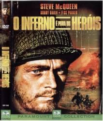 DVD O INFERNO E PARA HEROIS - GUERRA