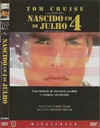 DVD NASCIDO EM 4 DE JULHO