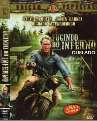 DVD FUGINDO DO INFERNO - DUBLADO - GUERRA - 1963